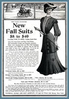 Fashion Advertisement from 1903