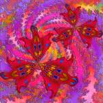 """Floral Fractal Fantasy"" by Chicagoartist1"