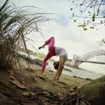 """Yoga in New York Project  (5801) copy"" by Wari"