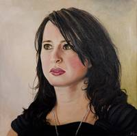 Anneka (oil on canvas)