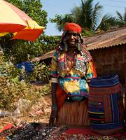 Street seller in Goa