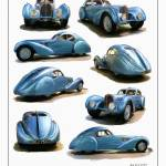 """Bugatti Atlantic Type 57C"" by RGMcmahon"