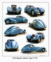 Bugatti Atlantic Type 57C