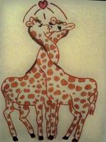 The Love Giraffes