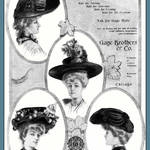 """Millinery Ad of 1904"" by WilshireImages"