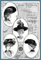 Millinery Ad of 1904