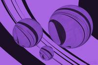 Spheres Deco Series - Purple