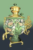 Russain Samovar Tea-Urn - 3D Model