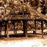 """Rain Shelter, Ghana"" by cybergypsie"
