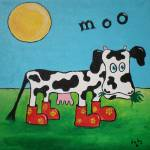 """Moo"" by SheepMcTavish"