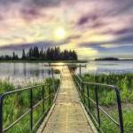 """Boardwalk into Sunset HDR"" by watamyr1972"