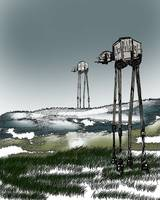 At-At Winter Landscape