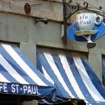 """Cafe St. Paul - Montreal"" by Ffooter"