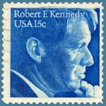"""Robert F. Kennedy Commemorative Stamp"" by WilshireImages"