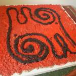 """Symbols painted by sand 4"" by Atelibecirevic"