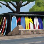 """Surf Shack"" by RobinCowles"