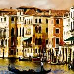 """VENETIAN SUNSET"" by shaynaphotography"