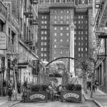 """Union Square Cafe B/W"" by snapshotsmity"