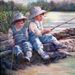 """""""Fishing"""" by mariewitte"""