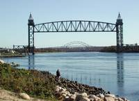 Two Cape Cod Canal Bridges