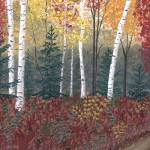 """Birches"" by GeorgeBurr"