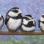 """Chickadee Chicks"" by GeorgeBurr"