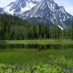 """""""Sawtooth Mountain"""" by cybergypsie"""