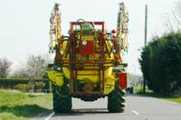 Harvester Tractor in Lincolnshire