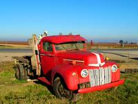 Red Flatbed