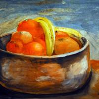 Bowl Full of Fruit by Lisa Rich