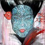 """Snake Woman"" by Amit-Grubstein-Art"