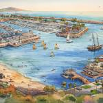 """Dana Point Harbor"" by WillyDaleArt"