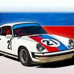 """White Porsche 911"" by StuartRow"