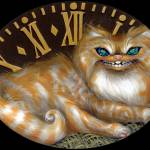 """Cheshire Clock"" by strangeling"