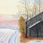 """Frozen Barn"" by GeorgeBurr"