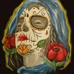 """Gypsy Skull"" by ajkartworks"