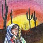 """""""Desert Girl"""" by Amit-Grubstein-Art"""