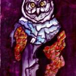 """""""Owl Wizard"""" by Amit-Grubstein-Art"""