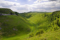 Cressbrook Dale from Mires Lane (28865-RDA)