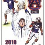 """2010 Auburn National Championship"" by berreyart"