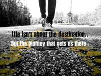 Life Isn't the Destination
