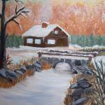 """""""Winter Cabin"""" by elajanus"""