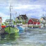 """Peggys Harbor in Halifax Nova Scotia"" by loracnabru"