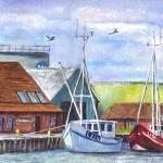 """""""Tyboron Harbor Denmark"""" by loracnabru"""