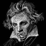 """Ludvig Von Beethoven"" by GerhardtIsringhaus"