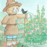 """Scarecrow Gingey"" by Artpixie"
