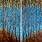 """Twilight Maples Diptych"" by AaronKloss"
