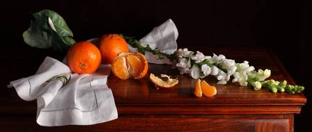 Tangerines and wallflowers