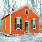 """Little Red School House New Canaan Connecticut"" by BeaconArtWorksCorporation"