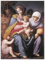 The Virgin and Child with Saint Elizabeth